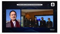 """Wamendag  Jerry Sambuaga dalam LiveStreaming Liputan6 """"Wamen Jerry Sambuaga dan Pertemuan WTO"""" Live from Jenewa, Swiss, Kamis (10/12/2020). Dok Liputan6.com"""