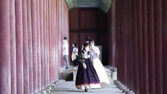 FOTO: Merayakan Liburan Chuseok di Istana Gyeongbok