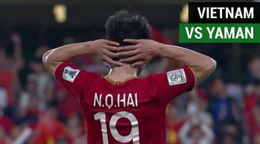 Berita video highlights Grup D Piala Asia 2019 antara Vietnam melawan Yaman yang berakhir dengan skor 2-0, Rabu (16/1/2019).