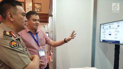 Kadiv Humas Polri, Irjen Pol. Muhammad Iqbal saat gelaran Indo Security dan Indo Firex 2019 Expo & Forum di Jakarta, Kamis (18/7/2019). Hal ini berkaitan dengan keamanan dan pengamanan negara serta peralatan teknologi keamanan yang bisa memberi asistensi tugas kepolisian. (Liputan6.com/HO/Iwan)