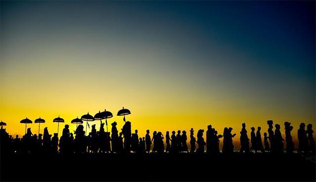 Ilustrasi suasana perayaan Nyepi di Bali. (www.disbud.baliprov.go.id)
