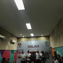 Jumpa pers yang digelar BOPI dan Kemenpora terkait tewasnya suporter Persija di GBLA, di Jakarta, Senin (24/9). (Liputan6.com/Edu Krisnadefa)