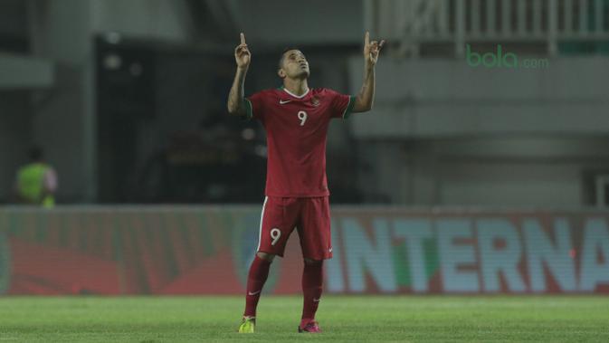 FOTO: Melihat Aksi Alberto Goncalves di Timnas Indonesia U23  Indonesia Bola.com