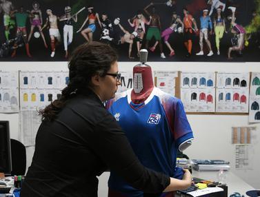 Melihat Pembuatan Seragam Timnas Islandia Buat Piala Dunia 2018
