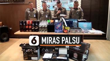 Seorang lansia bernama Chan Fat Yat ditangkap polisi lantaran menjual miras palsu ke bar di sekitar Thailand. Parahnya, bisnis curang ini dilakukannya selama 30 tahun.