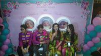 Ashanty mengatakan, jika ia dan suaminya sepakat tidak melakukan acara aqiqah secara mewah.