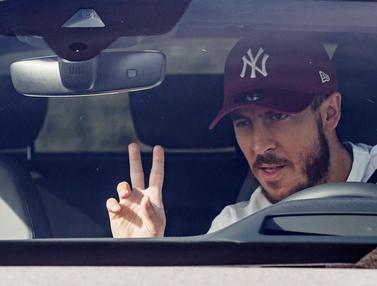 Eden Hazard dan Skuat Real Madrid Jalani Tes Virus Corona