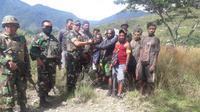 Eks anggota KKSB Papua menyerahkan diri dan berikrar kembali ke NKRI. (Istimewa)