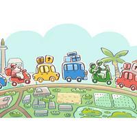 Google Doodle Selamat Mudik 2018. (Doc: Google)