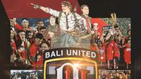 Bali United - Kolase Juara Liga 1 2019 (Bola.com/Adreanus Titus)