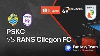 Link Live Streaming Liga 2 2021 Selasa, 26 Oktober : RANS Cilegon FC Vs PSKC Cimahi di Vidio