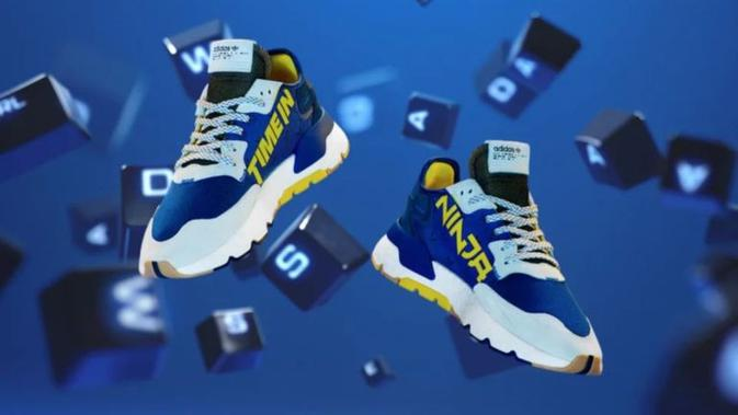 Adidas kolaborasi dengan Ninja luncurkan sepatu sneaker. (Doc: Adidas_