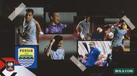 Kolase - Persib Bandung di Final Leg 1 Piala Menpora (Bola.com/Adreanus Titus)