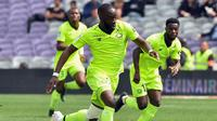 3. Nicolas Pepe (Lille) - 19 gol dan 11 assist  (AFP/Remy Gabalda)
