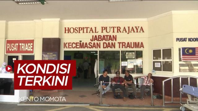 Berita video kondisi terkini pemain badminton asal Jepang, Kento Momota, yang mengalami kecelakaan mobil di Kuala Lumpur Malaysia.