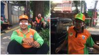 Potret Pasukan Orange Pakai Odol di Pipi Saat Aksi 22 Mei Ini Tuai Simpati (sumber:Twitter/@febrofirdaus)