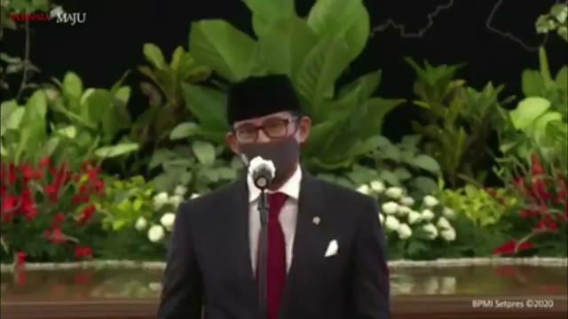 Sandiaga Uno resmi dilantik sebagai Menteri Parekraf oleh Presiden Jokowi hari Rabu (23/12).  Apa langkah pertama yang akan dilakukannya?