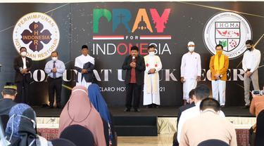 PHRI dan IHGMA gelar doa bersama lintas agama (Liputan6.com/Fauzan)