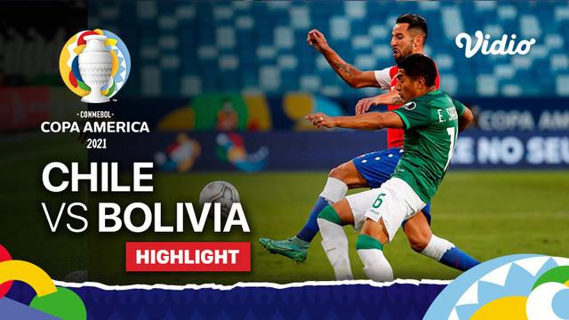 Berita video gol debut striker Timnas Chile kelahiran Inggris, Ben Bereton, dalam highlights laga kemenangan atas Bolivia di Grup B Copa America 2021, Sabtu (19/6/2021) dinihari WIB.