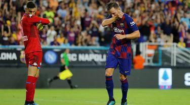 Gelandang Barcelona, Ivan Rakitic.