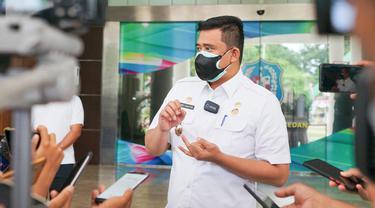 Vaksinasi Massal Picu Keramaian, Bobby Nasution:  Tak Ada Keterlibatan  Pemko, Bukan Wilayah Medan