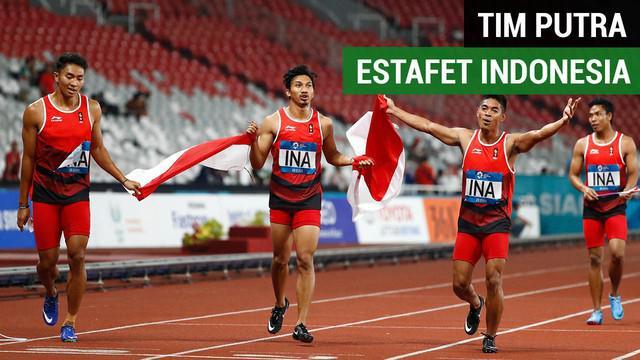 Berita video kecepatan lari Lalu Muhammad Zohri, Fadlin, Eko Rimbawan, dan Bayu Kertanegara pada nomor lari estafet 4x100 meter berbuah medali perak untuk Indonesia di Asian Games 2018.