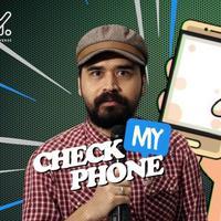 Tantangan Cek My Phone kali ini giliran Rizky Hanggono ditantang tim bintang.com
