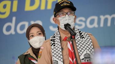 Ridwan Kamil Serahkan Bantuan Masyarakat Jabar Senilai Rp1,5 Miliar untuk Palestina