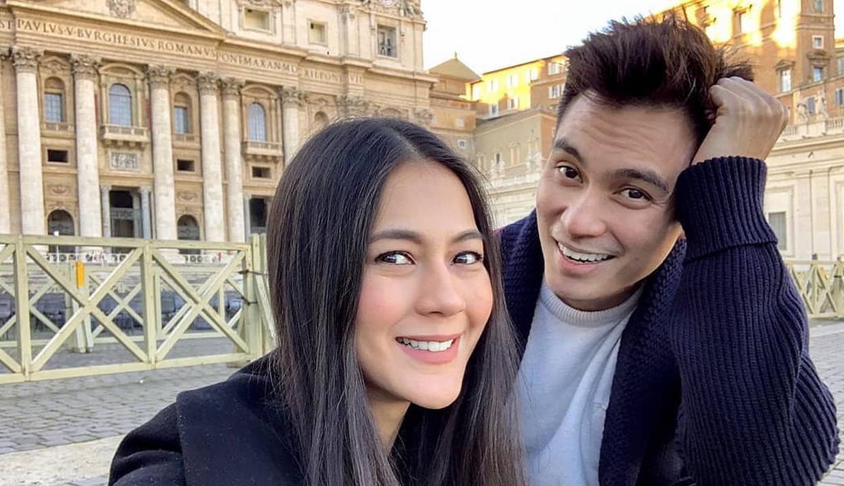 Anak Baim Wong dan Paula Verhoeven telah lahir. (Instagram/baimwong)