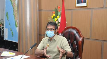 Gubernur Sumbar Irwan Prayitno. (Liputan6.com/ Humas Pemprov Sumbar)