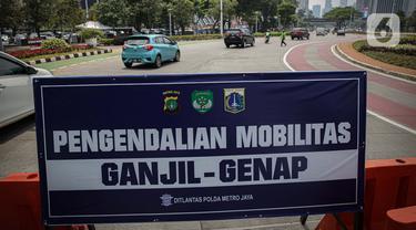 Ganjil-Genap Berlaku di Tiga Ruas Jalan Jakarta