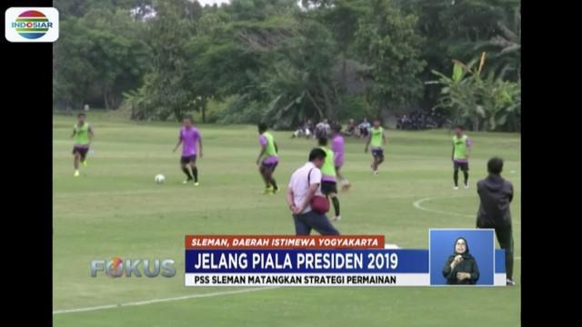 PSS Sleman masih hadapi persoalan susunan pemain untuk hadapi Madura United di Piala Presiden 2019.