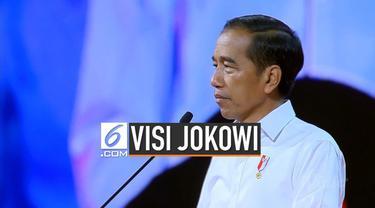 Presiden terpilih Jokowi memastikan bahwa pemerintahan periode kedua yang dipimpinnya akan melanjutkan pembangunan infrastruktur.  Hal ini disampaikan Jokowi saat memberikan Pidato Visi Indonesia di Sentul International  Convention Center, Bogor, J...
