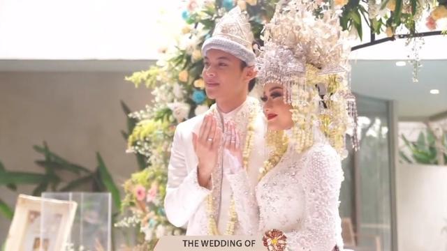 7 Potret Akad Nikah Dinda Hauw dan Rey Mbayang, Bernuansa Adat Palembang