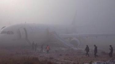 Bandara Berselimut Kabut, Pesawat Turki Tergelincir ke Rumput