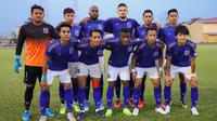Klub Kamboja, Svay Rieng, akan bersua Bali United pada laga kedua Grup G Piala AFC 2020, di Phnom Penh Olympic Stadium, Selasa (25/2/2020). (dok. Twitter Svay Rieng)
