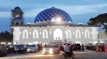 Kementrian PUPR Bangun Kembali Masjid At-Taqarrub Setelah Rusak Berat Akibat Gempa Tahun 2016 Silam