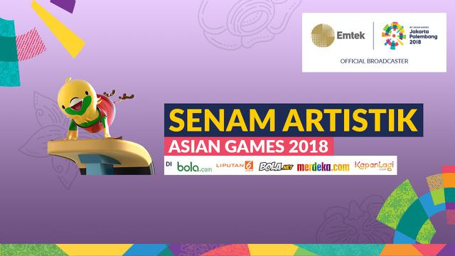 Indonesia Lolos Ke Final Senam Artistik Asian Games 2018 Asian