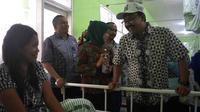 Wakil Gubernur Jawa Timur, Syaifullan Yusuf saat mengunjungi RS Syaiful Anwar Malang (Zainul Arifin/Liputan6.com)