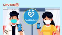 Banner Infografis Kenali Fungsi Skrining Aplikasi PeduliLindungi untuk 6 Aktivitas. (Liputan6.com/Niman)