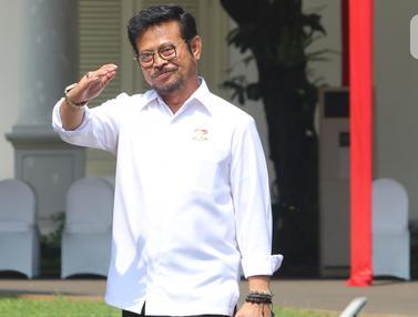Tiba di Istana, Tiga Wajah Baru Calon Menteri Jokowi Lambaikan Tangan