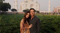 Raisa dan Hamish Daud liburan ke India [foto: instagram]
