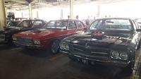Mobil-mobil klasik yang ada di Classic for The Young Generation (Yurike/Liputan6.com)