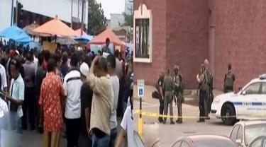 Pedagang Pasar Blokir Jalan hingga Pria Serang Pengunjung Bioskop