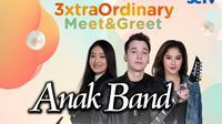 Anak Band gelar 3xtraOrdinary Meet & Greet Virtual dengan penggemar Bandung dan sekitarnya, Sabtu (31/10/2020) sore live di Vidio