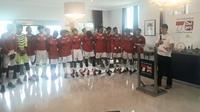 24 pemain terpilih dalam Tim Garuda Select akan tampil di Inggris dan Italia (Liputan6.com/Luthfie Febrianto)