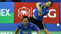 Ganda putra terbaik Indonesia, Mohammad Ahsan/Hendra Setiawan melaju mudah ke babak kedua Thailand Masters 2016.