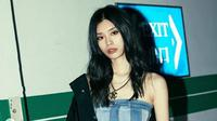 Ming Xi, model Victoria's Secret asal China. (dok.Instagram @mingxi11/https://www.instagram.com/p/Braikt1A4gy/Henry