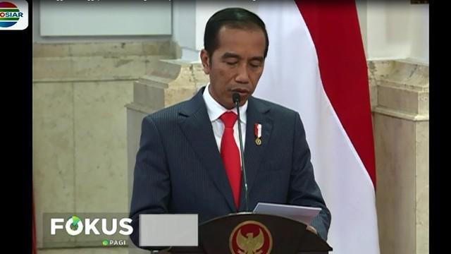 Presiden Joko Widodo menyoroti pertumbuhan ekonomi positif sebesar 5,15%, inflasi terkendali dibawah 3,5%.