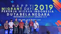 Peringatan Migrant Day 2019 di Malang, Rabu (19/12).